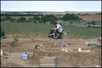 Excavations in west side of roomblock, Porter Area, 5MT1, 1966 (SL-YJ-168)
