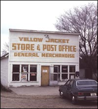 Yellow Jacket General Store and Post Office, ca. 1975 (SL-YJ-258)