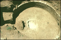 Kiva 1, Area 1, excavation of floor features in progress (SL-YJ-JC-013)